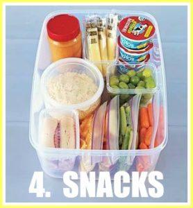 snacks for car