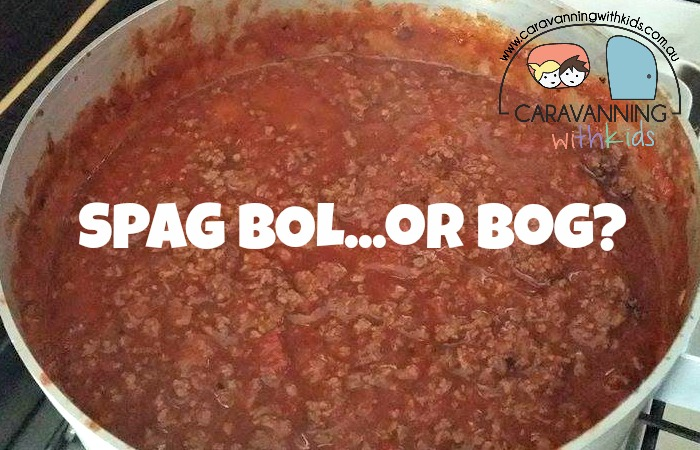 """Is it Spag Bol….or…Spag Bog?"""