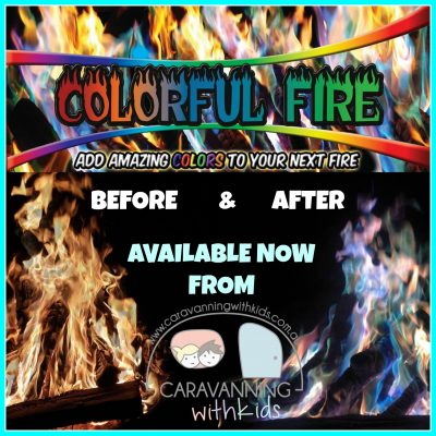 Colourful Fire Packets