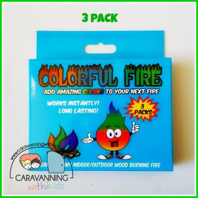 colourful fire 3 pack