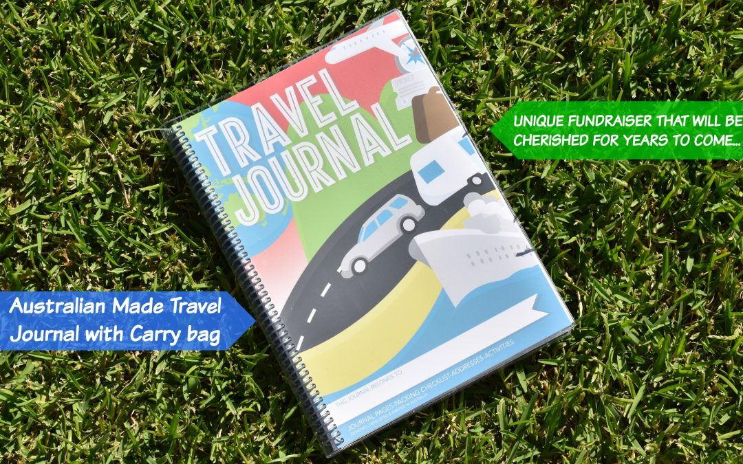 Fundraising with our Aussie Made Travel Journals