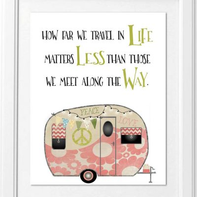 how far we travel in life