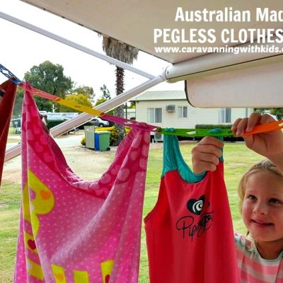 Pegless Clotheslines & Laundry