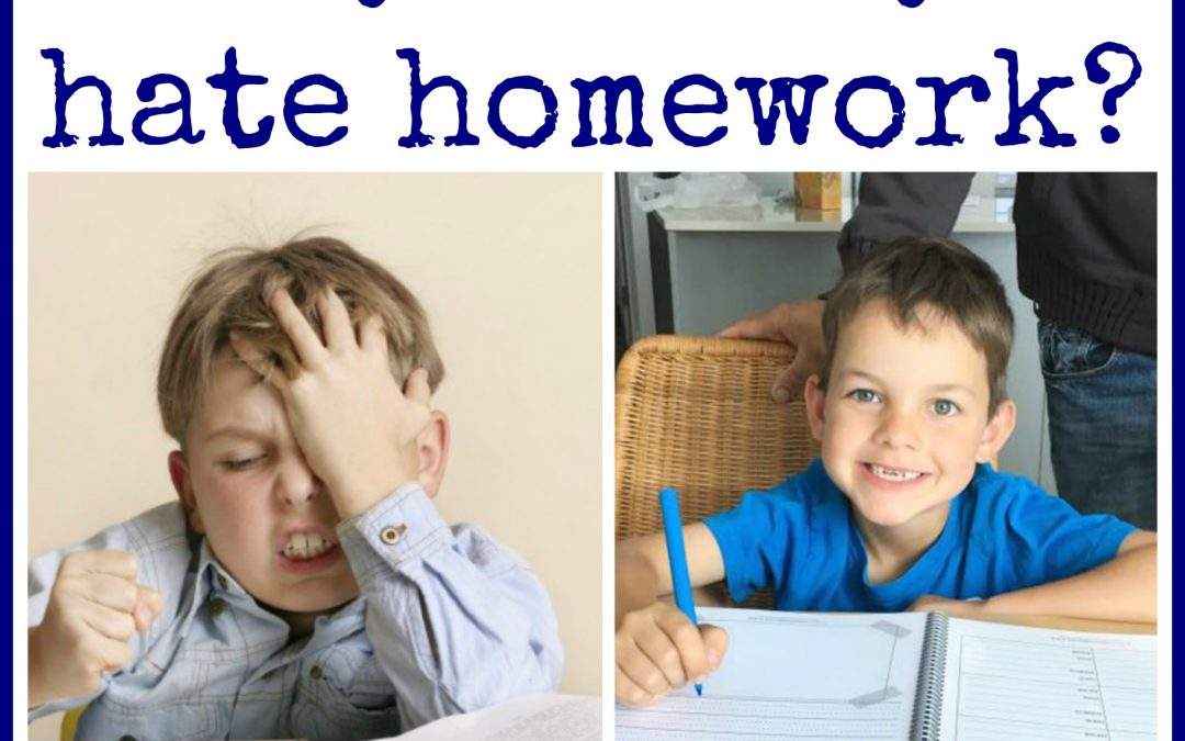 """I hate doing homework"" Said many a young boy…"
