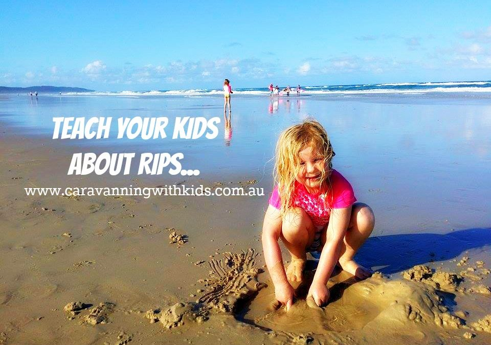 How to spot a RIP – beach safety in simple terms for kids!
