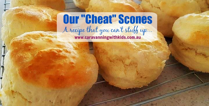 "Our ""Cheat"" Scones Recipe!"