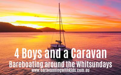 Bareboating around the Whitsundays