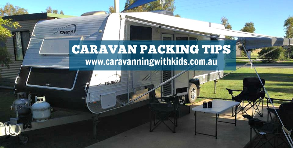 Caravan Packing Tips