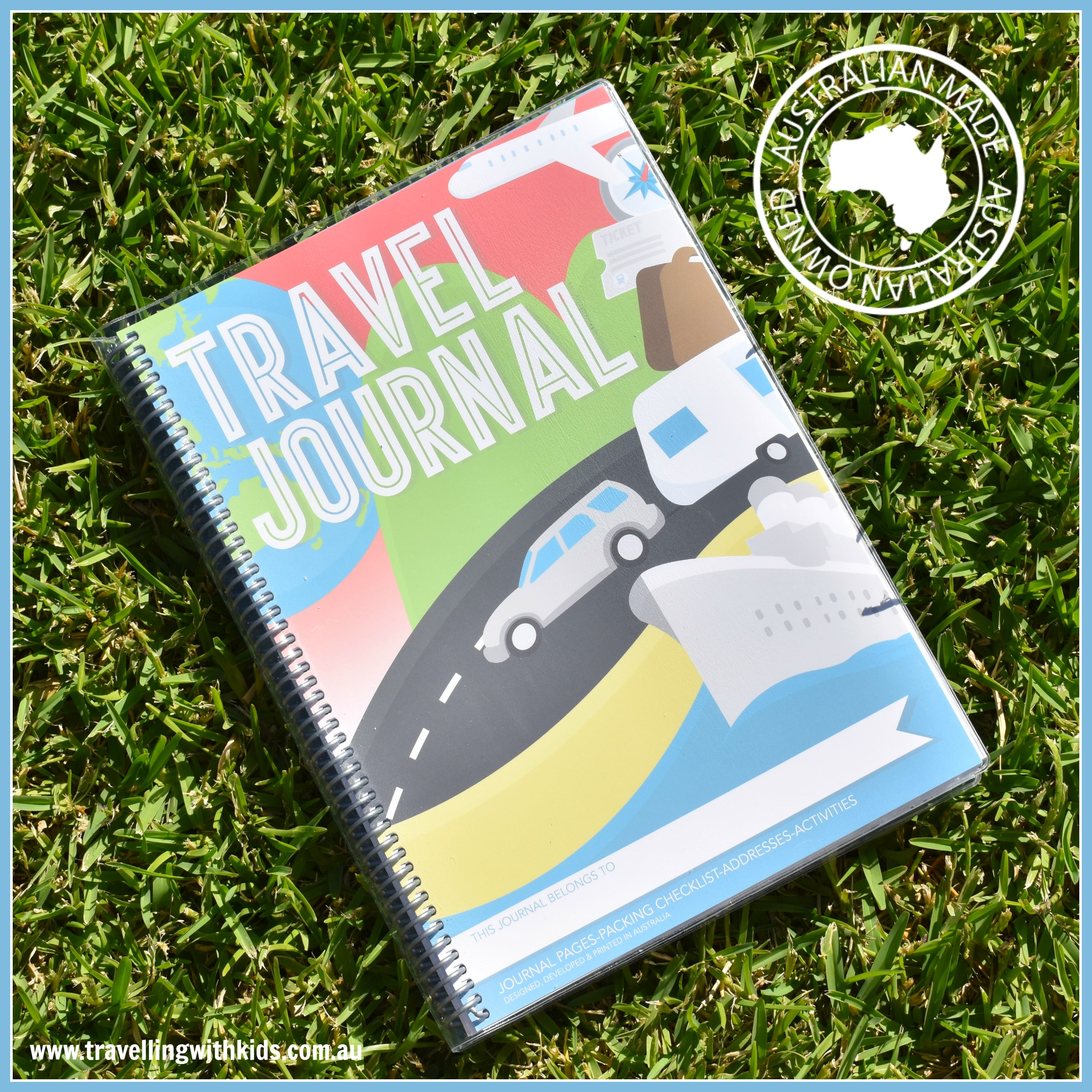 Travel Journal & Log Book