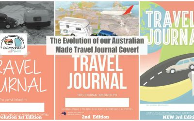 The Evolution of our Travel Journal cover