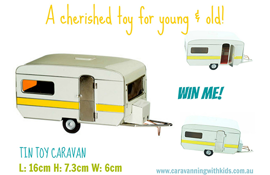 WIN a Retro Tin Toy Caravan – finished