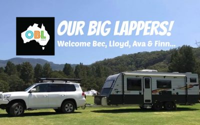 Welcome Our Big Lap!