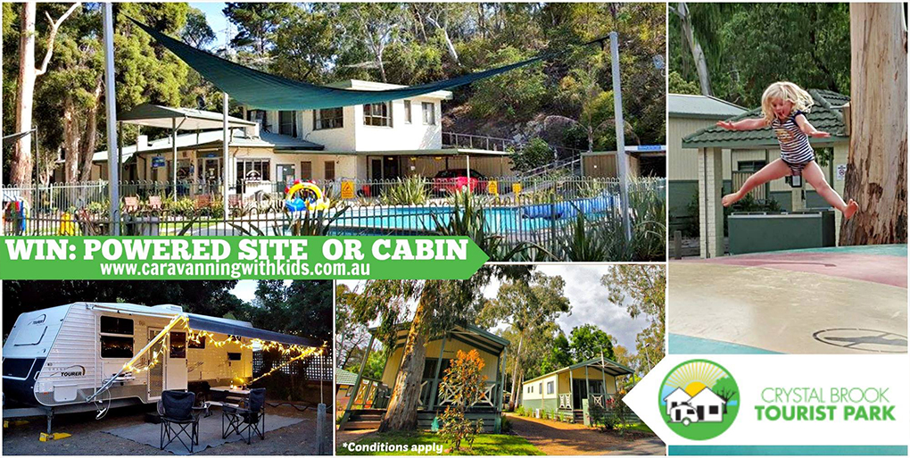 WIN a Holiday at Crystal Brook Tourist Park – finished