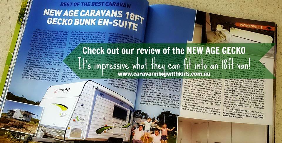 New Age Caravan Review – 18ft Gecko
