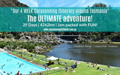 4 WEEK Caravanning Itinerary around Tasmania – The ULTIMATE adventure!