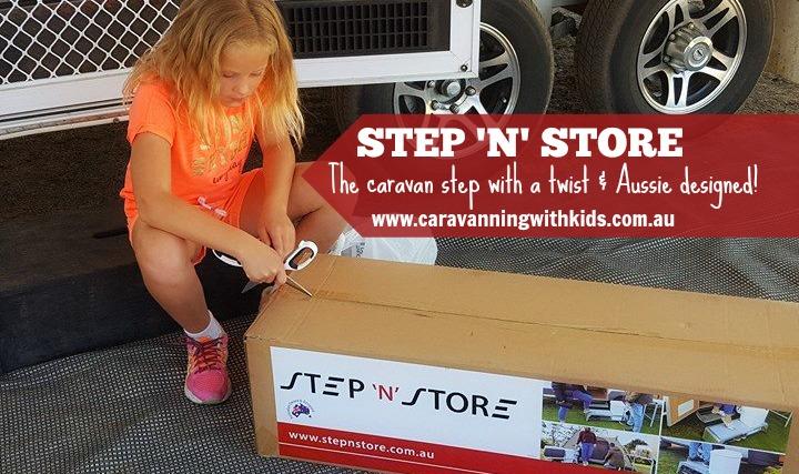 Step 'n' Store – the caravan step with a twist!