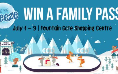 FINISHED: Win a Family Pass to THE BIG FREEZE Festival – Melbourne