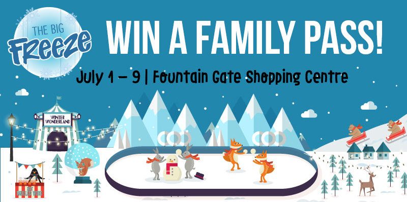 Win a Family Pass to THE BIG FREEZE Festival – Melbourne