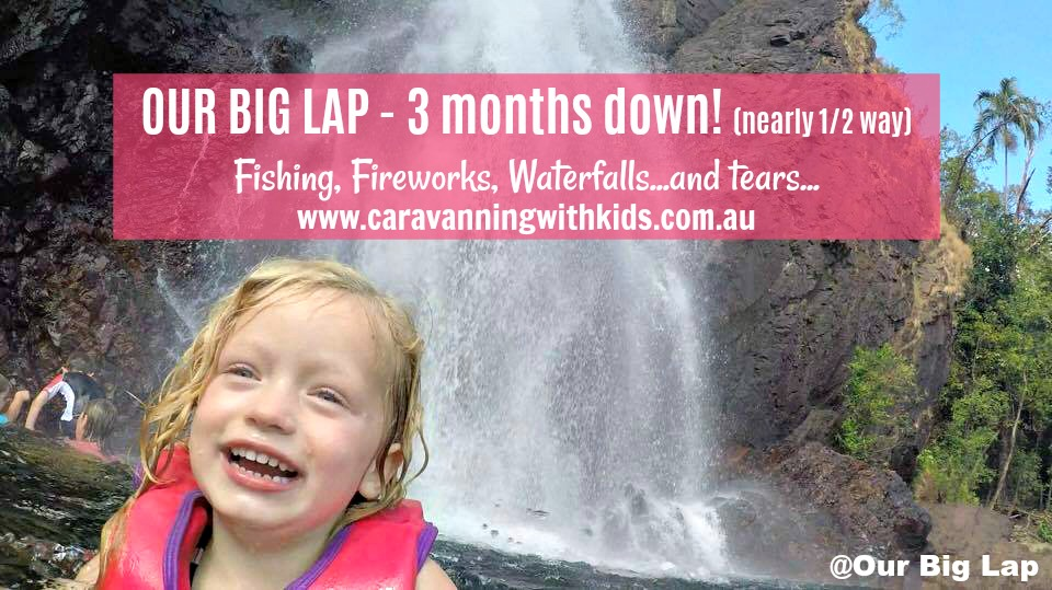 Our Big Lap – 3 months down, nearly half way!