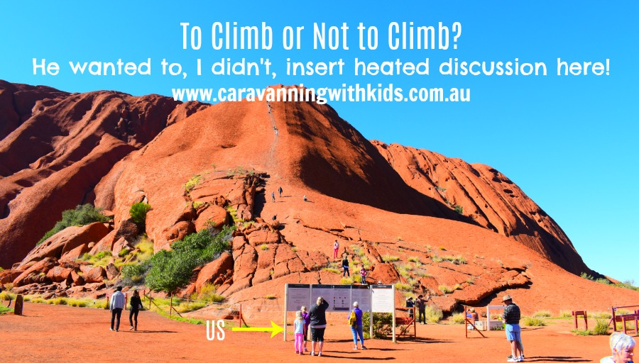 To Climb or Not to Climb Uluru?