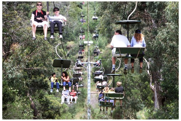 Arthurs Seat Eagle - the gondala skylift with incredible views ...