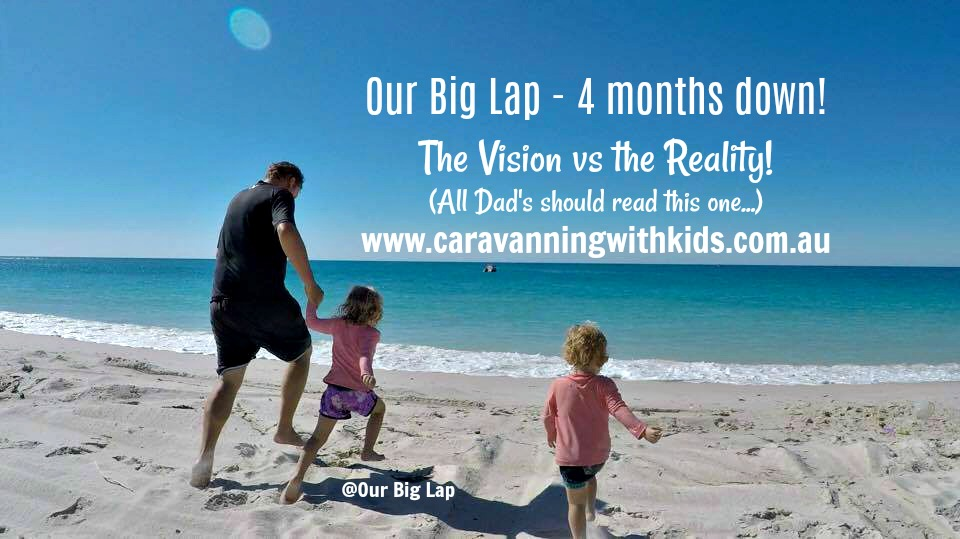 Our Big Lap – 4 months on, the Vision vs the REALITY!