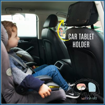 Car Travel Trays, Organisers & Wee Guards