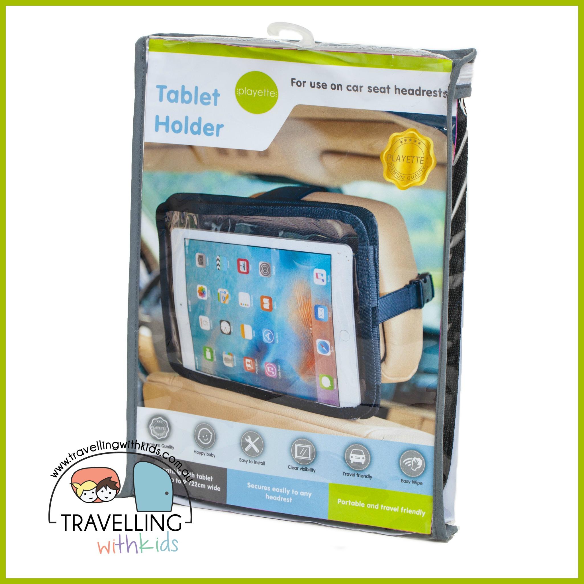 Big Toy Car Holder : Car tablet holder caravanning with kids
