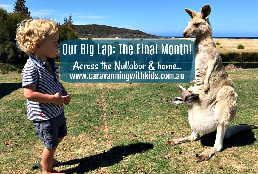 Our Big Lap – The Final Month: across the Nullarbor & home…