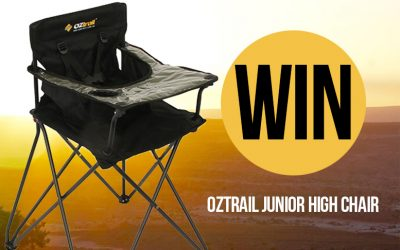 FINISHED! WIN an Oztrail Junior High Chair