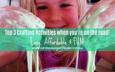 Top 3 Crafting Activities when you're on the road | Easy, affordable and FUN!