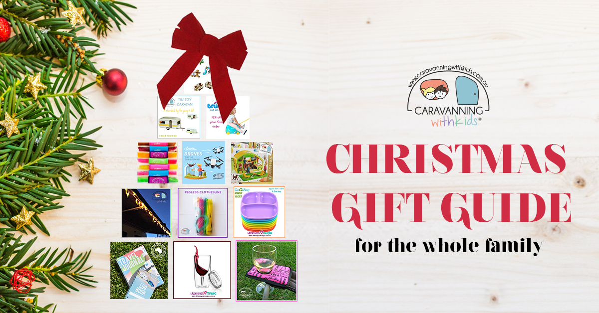 Christmas Gift Guide.Christmas Gift Guide For The Whole Family Caravanning