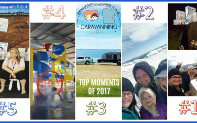 Our TOP 5 Caravanning with Kids Moments of 2017!