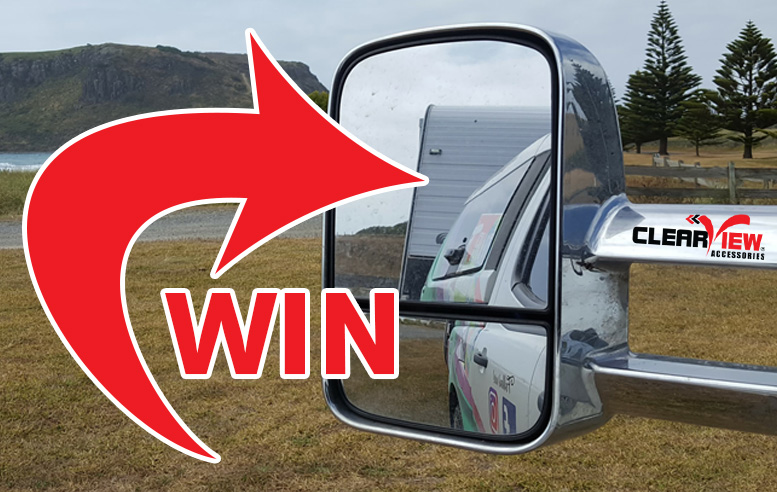 FINISHED! WIN a set of Clearview Towing Mirrors!