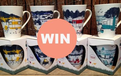 WIN a set of 4 Caravan & Camping Bone China Mugs