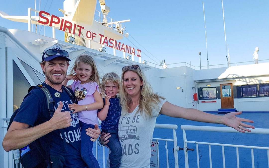 Tasmania through the lens with travelling family The Blonde Nomads