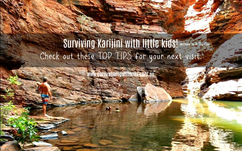 Surviving Karijini with little kids – and loving it!