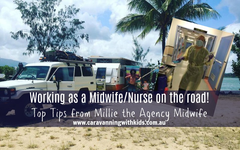 Working as a Midwife or Nurse while travelling around Australia! Can it be done?