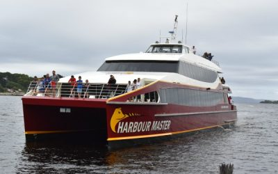 World Heritage Cruises: A highlight of our visit to Strahan in Tasmania.