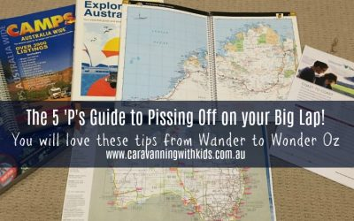 The 5 'P's Guide to Pissing off on our Lap of Oz! One week to go!