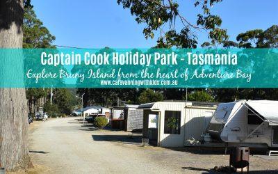 Captain Cook Holiday Park – Bruny Island Tasmania