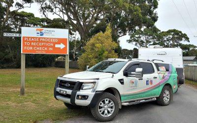 Strahan Beach Tourist Park – West Coast Tasmania