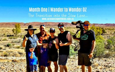 Month One | Wander to Wonder Oz | The Transition into the Slow Lane