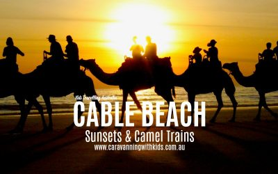Cable Beach | Sunsets & Camel Trains | Western Australia