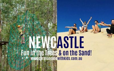 Newcastle | Fun in the Trees and on the Sand!