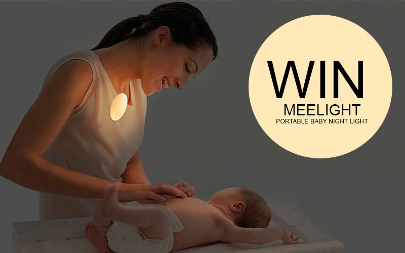 FINISHED:  WIN a Meelight | Portable Baby Night Light {2 Winners}