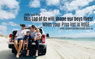This Lap of Oz will shape our little boys | Little Van Trip