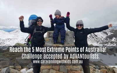 Reach the 5 Most Extreme Points of Australia's Mainland with AdVANtourists