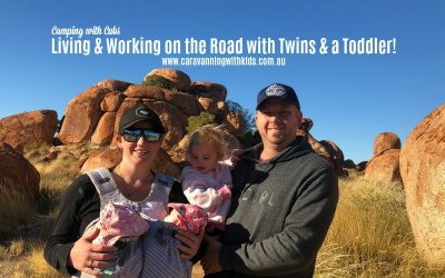 Working & Living on the road Full Time | Camping with Cubs