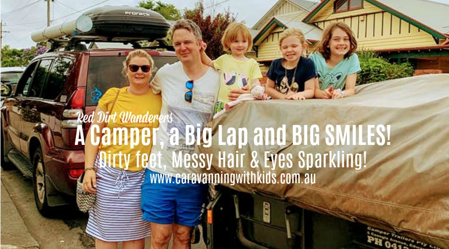 3 little girls, a Camper, a Big Lap and BIG SMILES | Red Dirt Wanderers